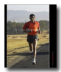Haile Gebrselassie - Weltklasse Marathonläufer