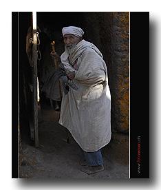 Pilger in Lalibela
