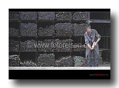 Stahlverkäufer inn Addis Abeba