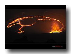Erta Ale - Eruption