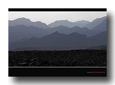 Rand der Danakil-Wüste