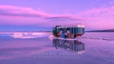 Salzgewinnung im Salar de Uyuni