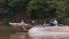 Our boats in the Pantanal