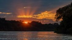 Sonnenuntergangsstimmung im Pantanal
