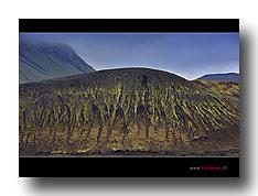 Die Landschaft bei Landmanalaugar