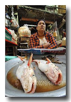 Fischhändlerin