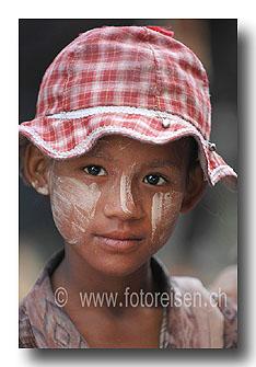 Mädchen in Myanmar