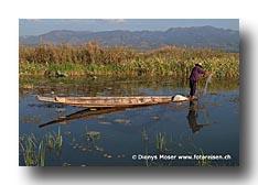 Netzfischer am Inlay Lake