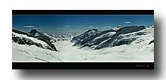 Grosser Aletsch-Gletscher vom Jungfraujoch