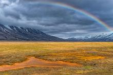 Landschaft bei Longyearbyen