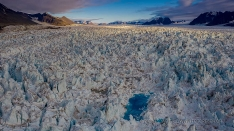 Monaco Gletscher Spitzbergen