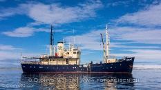 Unser Schiff für die Fotoreise Spitzbergen