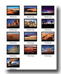 Namibia_Wandkalender 2004